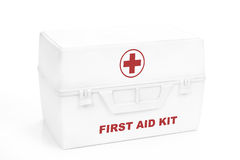 Erste-Hilfesatz lizenzfreie stockfotos