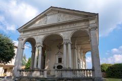 Erste Kapelle bei Sacro Monte di Varese Italien Stockfoto
