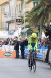 Erste Phase von Rennen Tirreno Adriatica Stockfotos