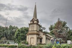 Erste presbyterianische Kirche in Bellevue Ne lizenzfreies stockbild