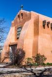 Erste Presbyterianische Kirche, Santa Fe, New Mexiko Stockbilder