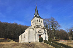 Erste Weltkrieg Vauquois Kirche Stockfoto