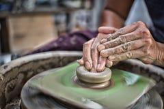 Erstellen der Skulptur Lizenzfreie Stockfotos