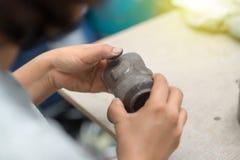 Erstellen der Skulptur lizenzfreies stockfoto