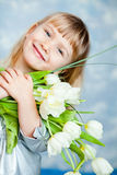 Erster Blumenstrauß Lizenzfreies Stockfoto