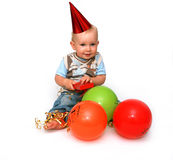 Erster Geburtstag Lizenzfreies Stockfoto