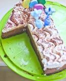 Erster Geburtstag-Kuchen Lizenzfreies Stockfoto