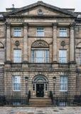 Erster Minister Wohnsitz Schottland des Hauses der hochgebogenen Hinterkante lizenzfreies stockbild