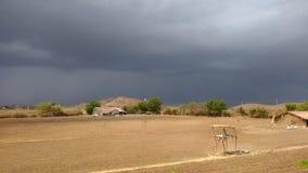 Erster Monsun stockbild