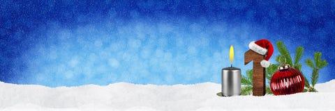 Erster Sonntag in der Einführung Lizenzfreie Stockbilder