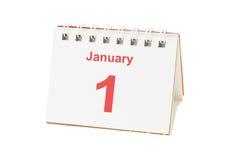 Erster Tag des neuen Jahres Stockfoto