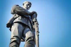 Erster Weltkrieg und Denkmal zwei Lizenzfreie Stockfotos
