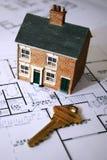 Erstes Haus Lizenzfreies Stockbild