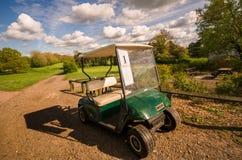 Erstes Mal, das Golf spielt Stockfotografie
