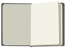Erstes Vorsatzblatt des offenen Buches Lizenzfreie Stockbilder