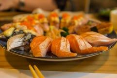 Erstklassige Sushi Stockfoto