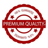 Erstklassiger Garantie-Stempelvektor der Qualität 100 Stockfotos