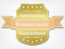 Erstklassiger Qualitätskennsatz Lizenzfreie Stockfotos