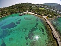 Erstklassiges Bodrum Hotel Rixos, die Türkei Stockbilder