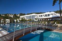 Erstklassiges Bodrum Hotel Rixos, die Türkei Stockbild