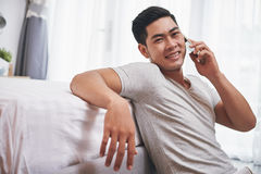 Ersuchen um Telefon Lizenzfreies Stockfoto