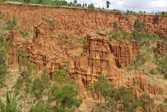 Erthiopian krajobrazy Fotografia Royalty Free