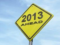 Ertrag 2013 Lizenzfreie Stockbilder