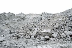 Erts die chrysotile asbest bevatten royalty-vrije stock foto