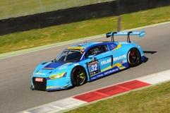 12 erts Hankook Mugello 18 Maart 2017: #34 autoinzameling Motorsport, Audi R8 LMS Royalty-vrije Stock Fotografie