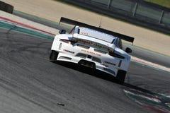12 erts Hankook Mugello 18 Maart 2017: #34 autoinzameling Motorsport, Audi R8 LMS Royalty-vrije Stock Foto