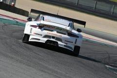 12 erts Hankook Mugello 18 Maart 2017: #34 autoinzameling Motorsport, Audi R8 LMS Royalty-vrije Stock Afbeeldingen