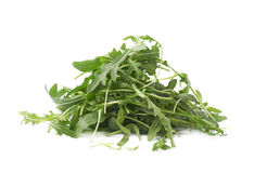 Eruca sativa rucola rocket salad Royalty Free Stock Photography