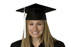 Erudito laureato (con il percorso) Immagini Stock