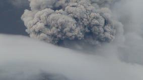 Erupção de Tungurahua video estoque
