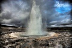 Erupción Fotos de archivo libres de regalías
