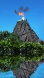 Erupción Foto de archivo libre de regalías