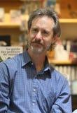 ERUPCIÓN de Ron del programa de escritura y del poeta de los E.E.U.U. Foto de archivo