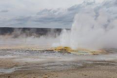 Erupción del géiser de la clepsidra Imagen de archivo