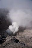 Erupción del gas fotografía de archivo libre de regalías