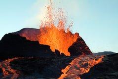 Erupción del volcán