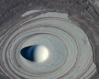 Erupción del vulcano del fango Imagen de archivo libre de regalías