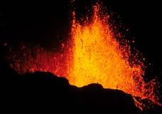 Erupción volcánica 2 Fotografía de archivo libre de regalías