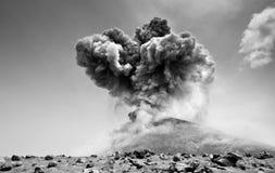 Erupcja obrazy royalty free