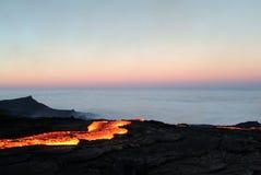 erupcja wulkanu Zdjęcie Royalty Free
