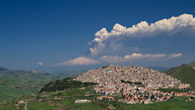 Erupting Etna Stock Image