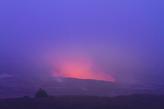 Erupting volcano Royalty Free Stock Images