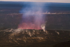 Erupting volcano Royalty Free Stock Photography