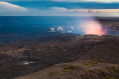 Erupting volcano Stock Image