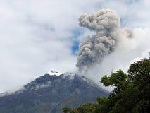 Erupting Volcano Royalty Free Stock Image