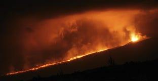 Eruption Lizenzfreie Stockfotos